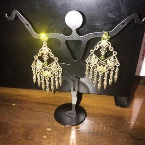 New Aurora Borealis Chandelier Earrings 🌟